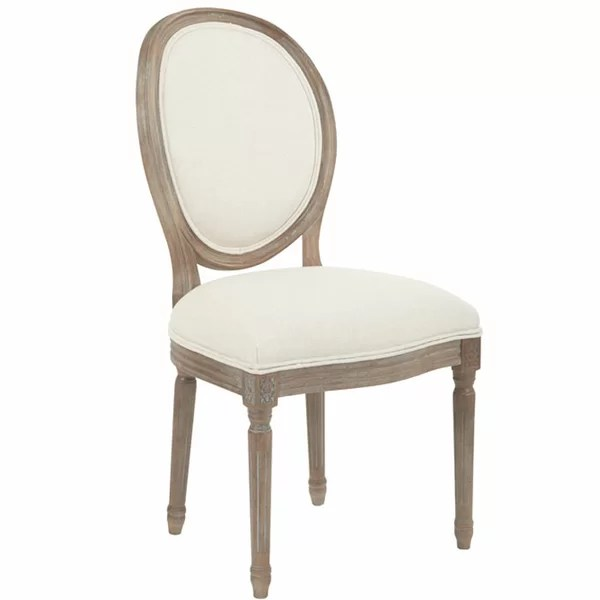 beige dining chairs white wicker uk joss main