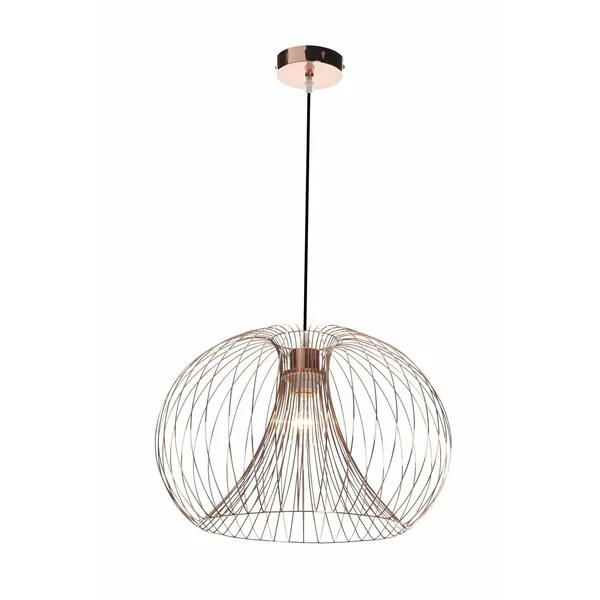 First Choice Lighting 1 Light Geometric Pendant & Reviews