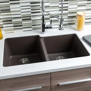 large sink kitchen aluminum cabinets extra mats wayfair quickview