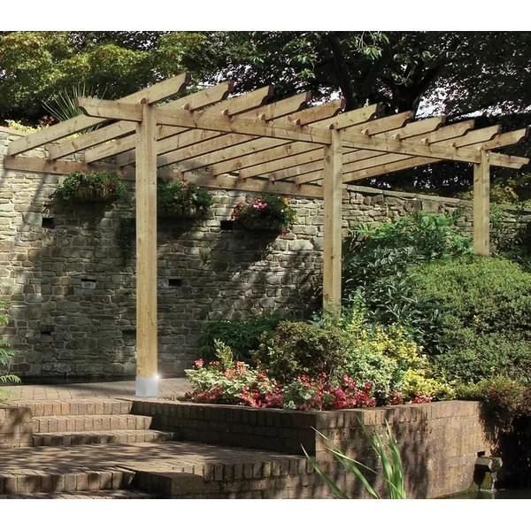 Grange Fencing Lean To Port Pergola  Reviews  Wayfaircouk
