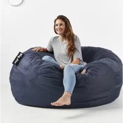 Big Joe Bean Bag Chair Multiple Colors 33 X 32 25 Revolving Olx Delhi Comfort Research Xxl Reviews Wayfair King
