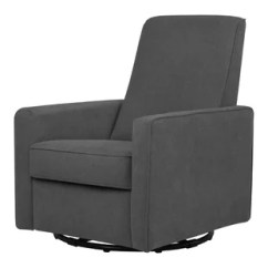 Modern Leather Recliner Swivel Chair Stand For Sale Contemporary Allmodern Quickview