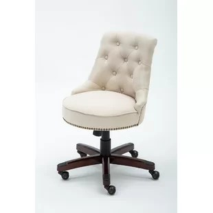 desk chair with wheels steel manufacturers mid back office chairs you ll love wayfair quickview