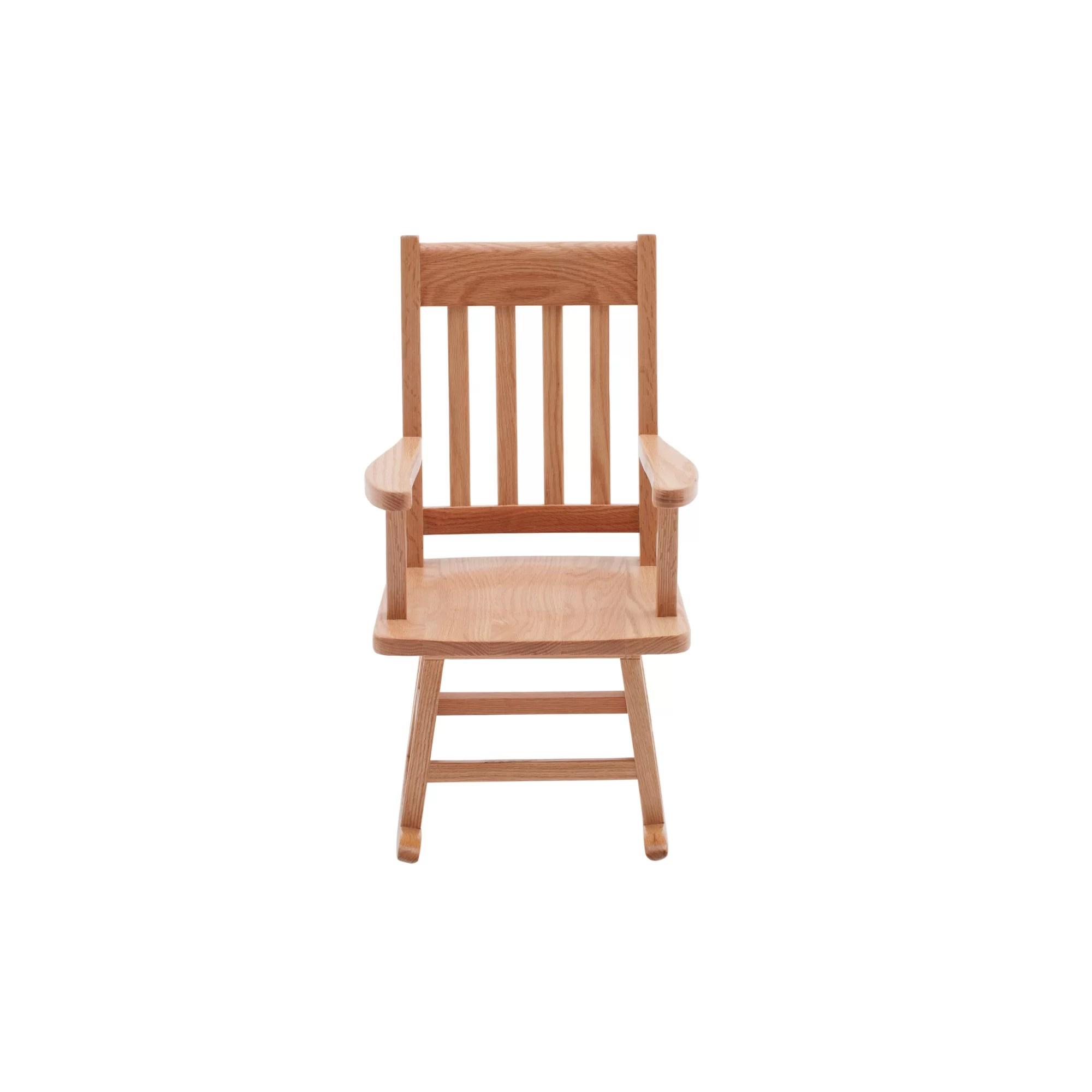 rocking chair kids recliner lift ecr4kids classic oak wayfair
