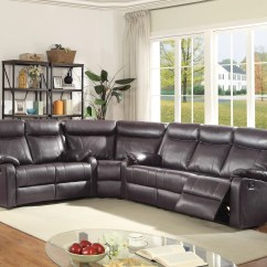 Sectional Reclining Leather Sofas Cindy Crawford Denim Sofa Cover Latitude Run Leo Minor Wayfair Ca