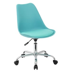 teal computer chair bedroom with desk chairs you ll love wayfair quickview
