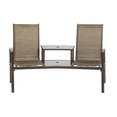 Tete A Chair Outdoor Chairs At Staples Burnstad Steel Bench Reviews Joss Main