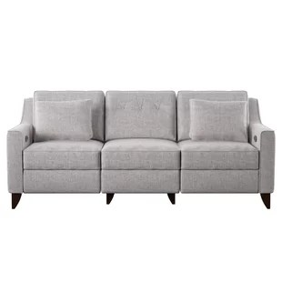 electric recliner sofa not working paletten modern contemporary sofas allmodern quickview