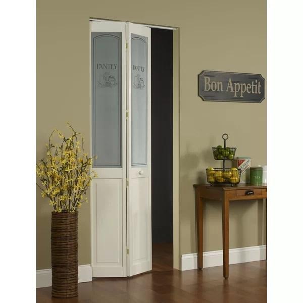 LTL BiFold Doors Pantry Pine Wood Unfinished BiFold