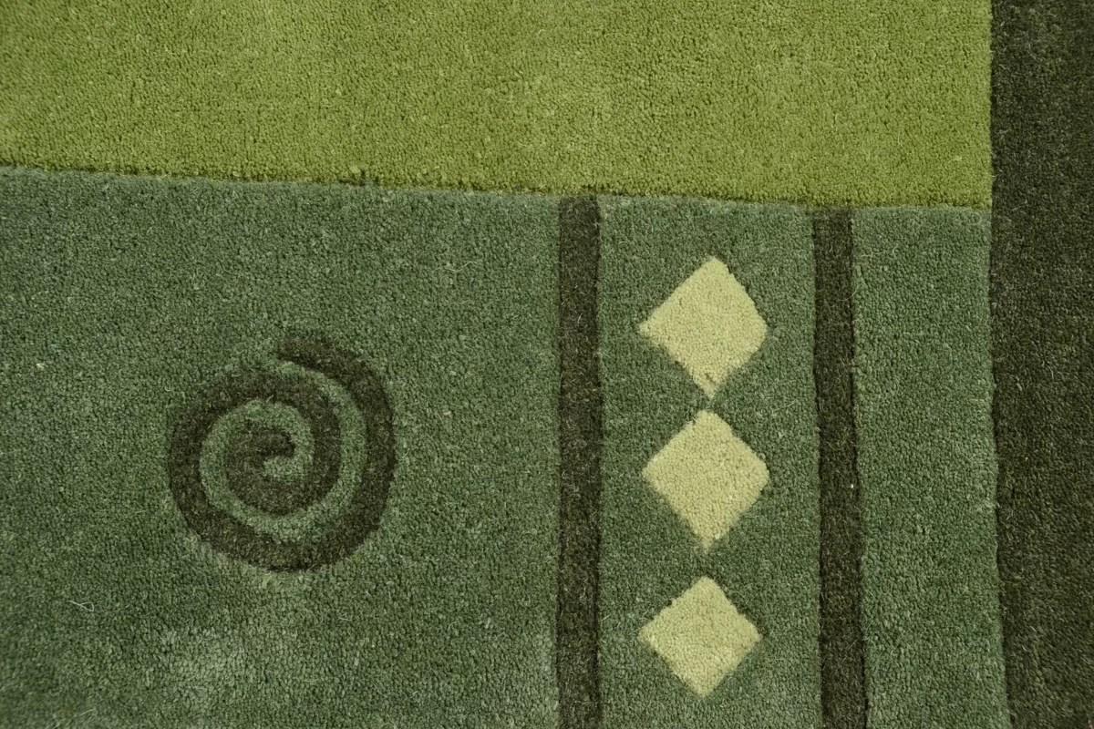 Teppich Wolle Grun Teppich Gabbeh Modern 200x300 Cm 100 Wolle 5 Kg