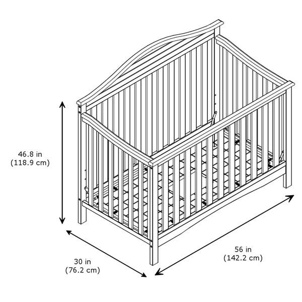 Graco Harbor Lights 4-in-1 Convertible Crib & Reviews