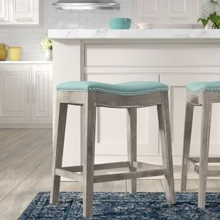 bar stool chair grey rolling office on wood floors stools you ll love wayfair quickview brown mystique gray