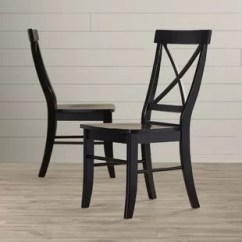 Wooden Chairs Pictures Blue Velvet Club Chair Rustic Wayfair Sawyer Solid Wood Dining Set Of 2