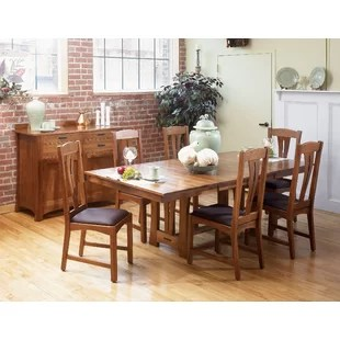 kitchen dining tables backsplash installation hickory you ll love wayfair ca lewistown extendable table