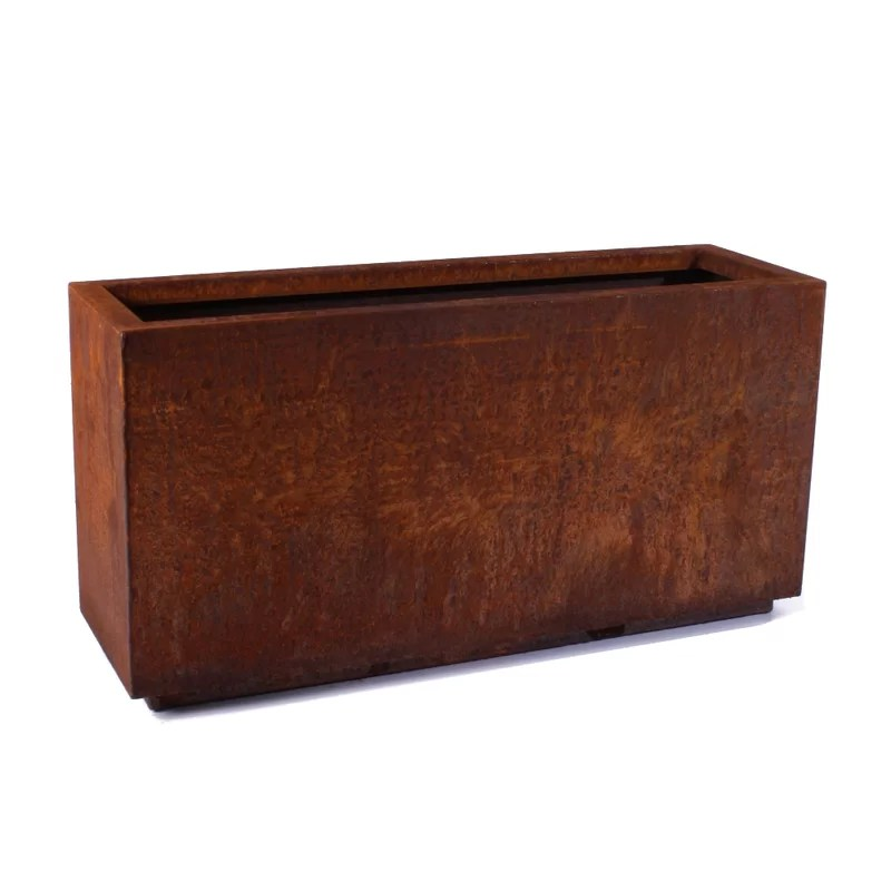 Metallic Series Corten Steel Planter Box  Reviews  AllModern
