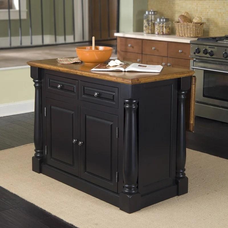 oak kitchen islands vintage cabinets laurel foundry modern farmhouse traditional wood island