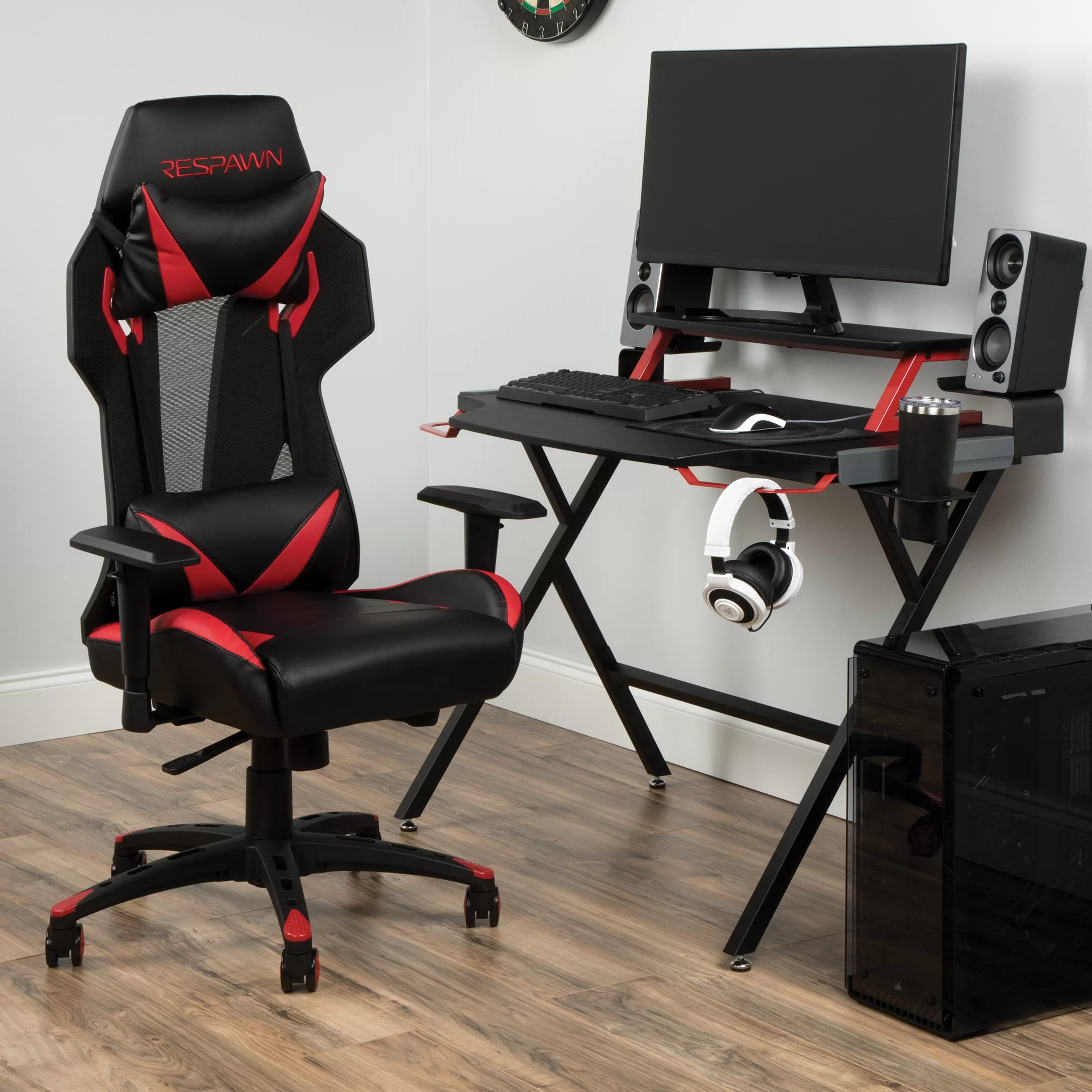 Will Chair Gaming Desk And Chair Set