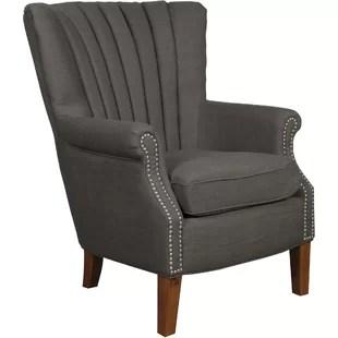 wingback chair uk memory foam occasional chairs you ll love wayfair co anka