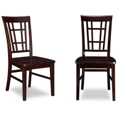 Barrel Dining Chairs Set Of 2 Small Apartment Table And Red Studio Trumer Solid Wood Chair Reviews