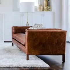 Burnt Orange Leather Living Room Furniture Package With Tv Sofa Wayfair Chappell