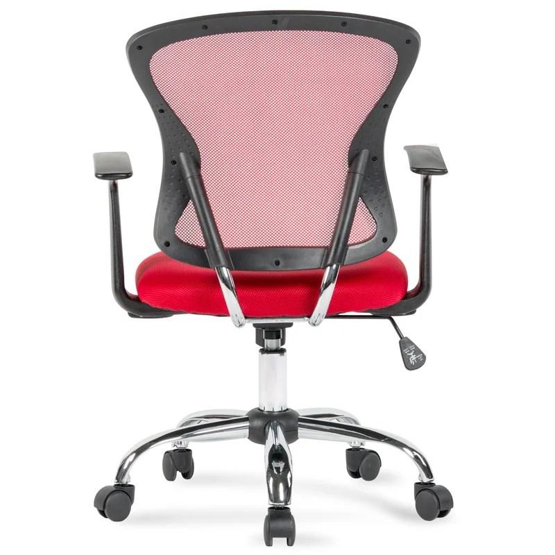 mesh task chair wood beach chairs ashville reviews joss main