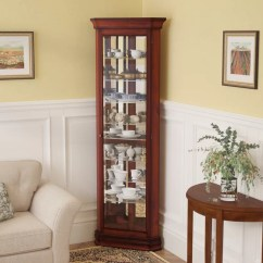 Corner Cabinets For Living Room Tiles Design China Curio You Ll Love Wayfair Hollingdon Lighted Cabinet