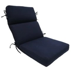 Lounge Chair Cushions Cheap Grey Office Uk Patio High Back Wayfair Solid Outdoor Cushion