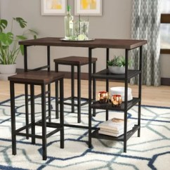 Small Pub Table And Chairs Fold Up Asda Tables Bistro Sets You Ll Love Wayfair Du Bois 3 Piece Set