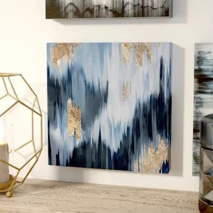 Metallic Wall Art Youll Love  Wayfair