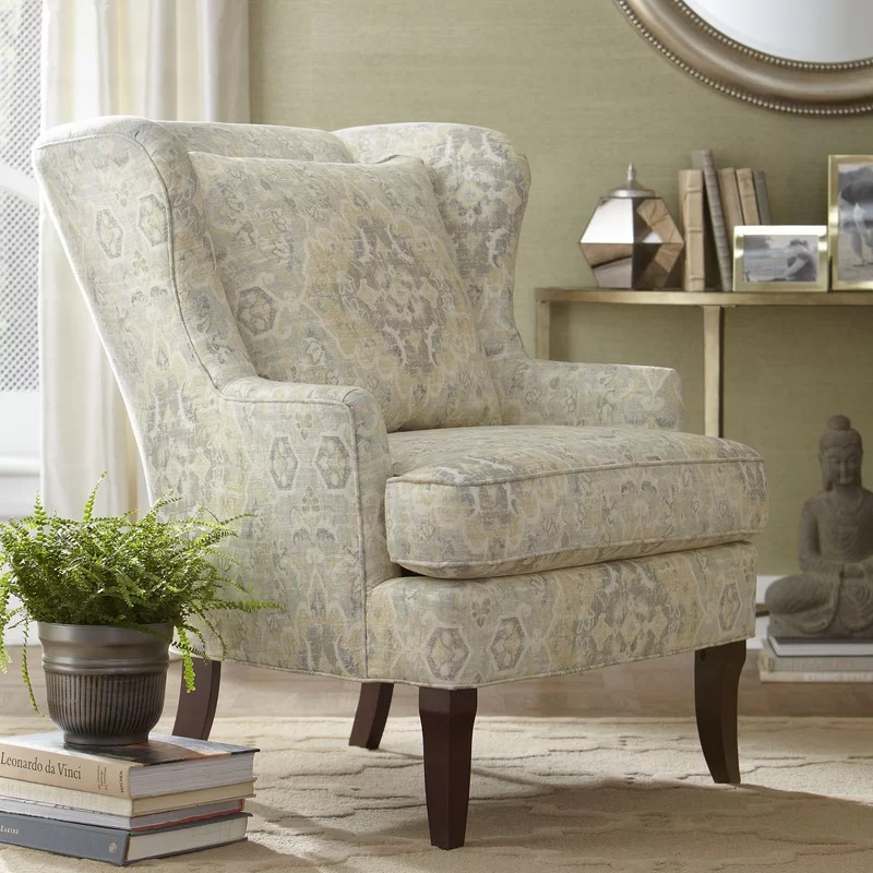 Birch Lane Lavelle Wingback Chair  Reviews  Wayfair