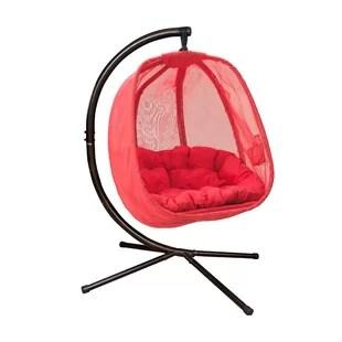 hanging chair egg lift in gatlinburg tn modern contemporary allmodern quickview