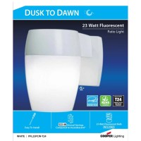 Cooper Lighting Dusk to Dawn 1-Light Sconce & Reviews ...