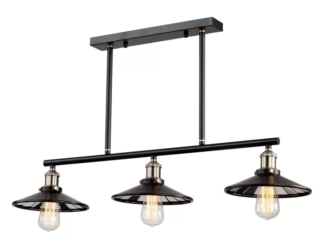 Bethel International 1 Light Kitchen Island Pendant