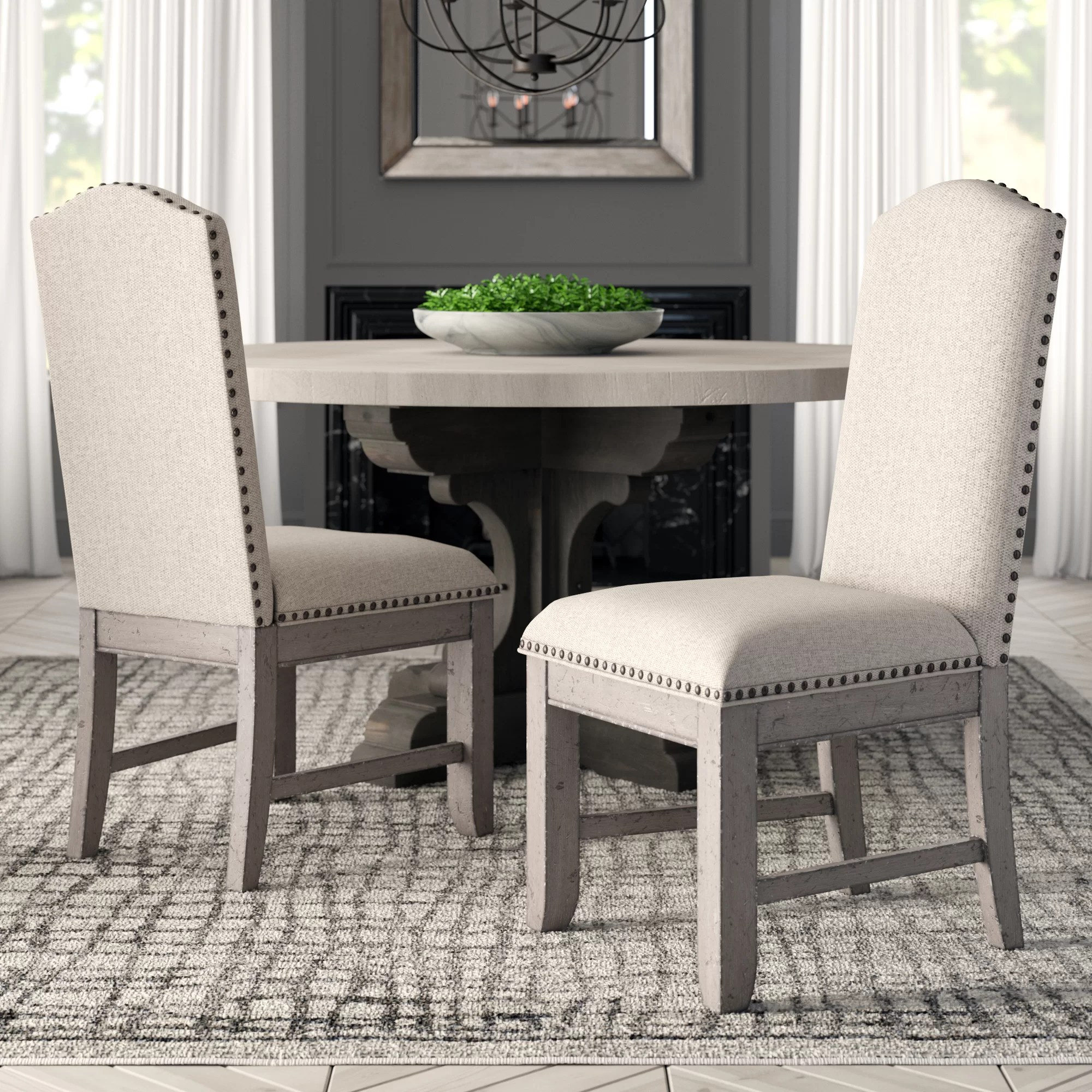 Dining Room Upholstered Chairs Devers Upholstered Dining Chair