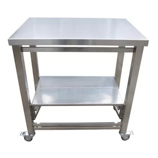 kitchen work station covered outdoor table wayfair the flip and fold cart