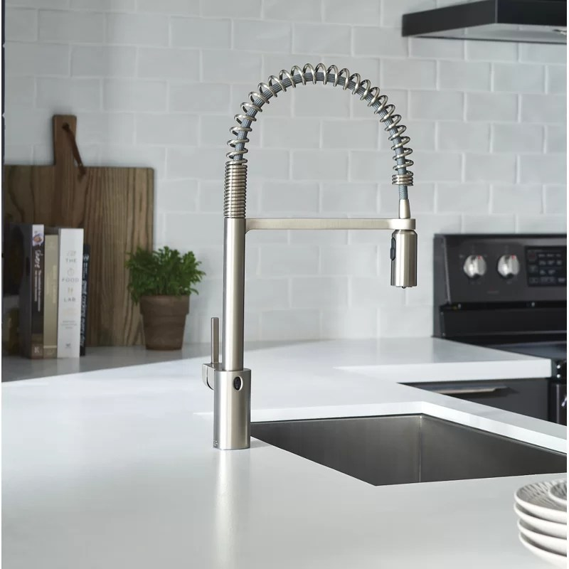 motion faucet kitchen needs moen align pull down touchless single handle with motionsense powerclean and duralock