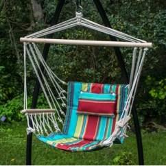 Hanging Outdoor Chairs Parsons Chair Covers Short Hammock Swing You Ll Love Wayfair Osblek