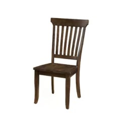 Wooden Chairs Images Wheelchair Accessories Near Me High Back Dining Wayfair Wilker Slatted Solid Wood Chair Set Of 2