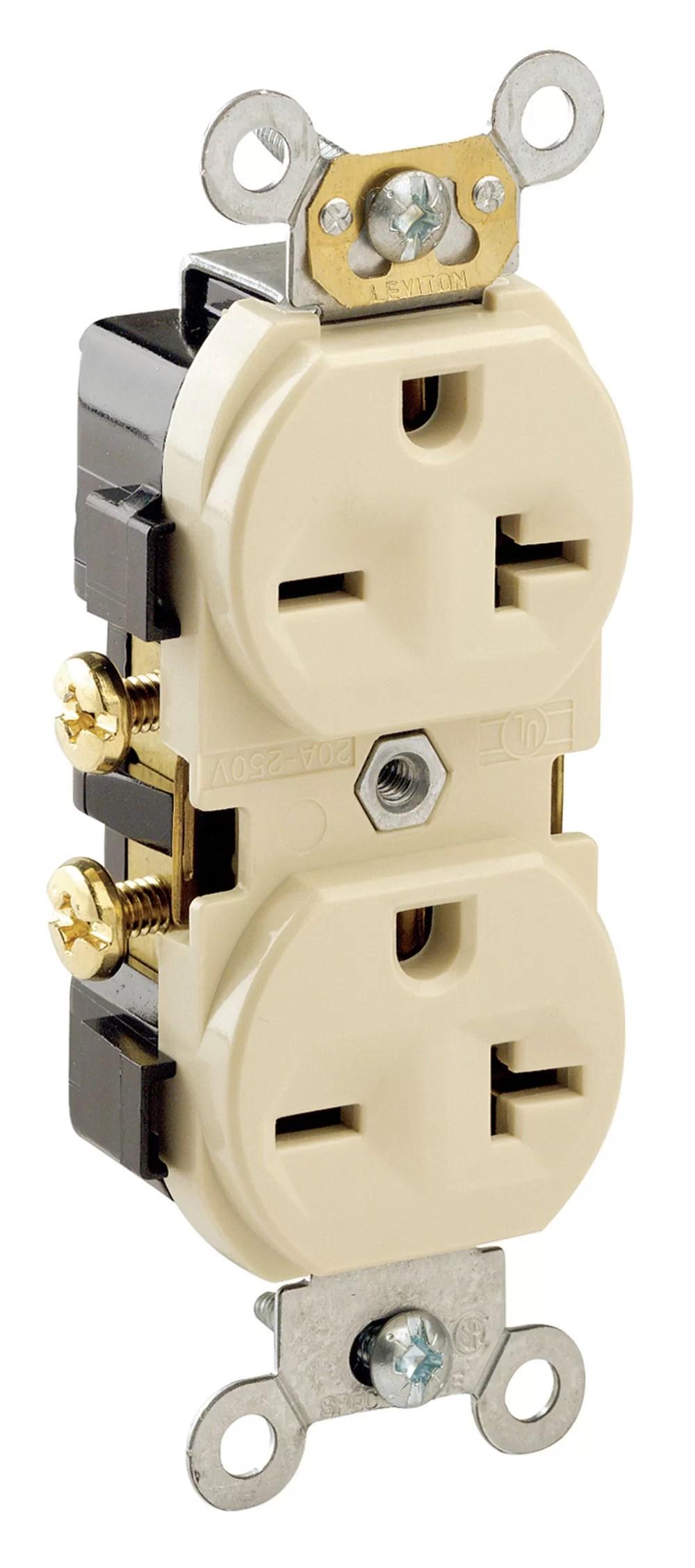 medium resolution of 051 05822 00i 20 amp gfci duplex outlet