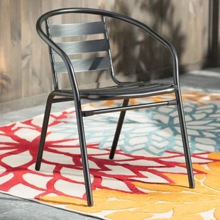 metal outdoor chair cover rentals regina patio chairs you ll love wayfair quickview