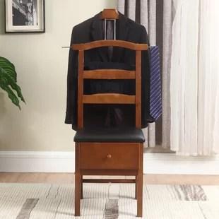mens valet chair modern outdoor chairs wayfair quickview