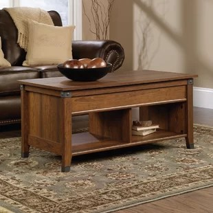 living room table with storage corner sofas for small rooms coffee tables you ll love wayfair ca