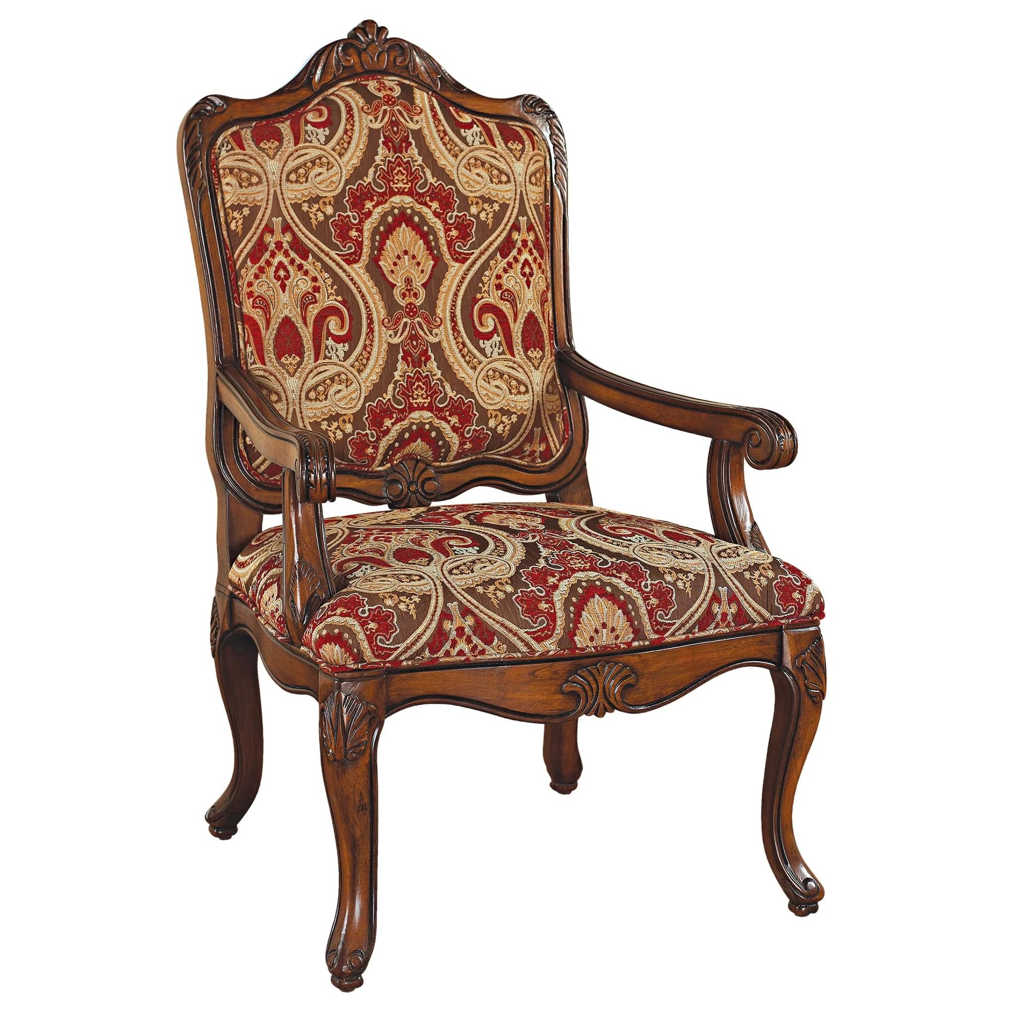 louis xv chair rv table and chairs design toscano armchair wayfair