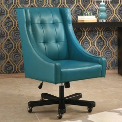 Turquoise Office Chair Drafting Red Barrel Studio Fanning Wayfair
