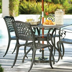 Dining Table With Metal Chairs Broyhill Office Chair Patio Furniture You Ll Love Wayfair