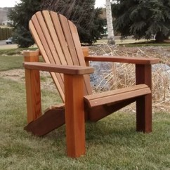 Wayfair Adirondack Chairs Indoor Chaise Lounge Chair Ottoman Solid Wood With