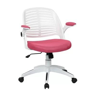 Pink Fuzzy Desk Chair  Wayfair