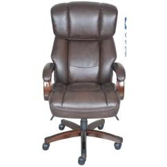 La Z Boy Big Tall Executive Leather Office Chair Black Tommy Bahama Folding Fairmont Reviews Wayfair