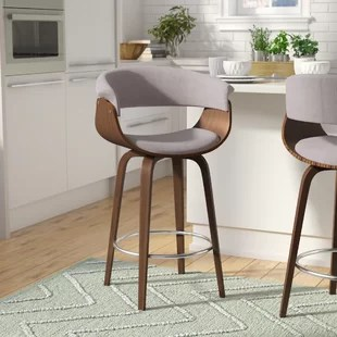 kitchen bar stools types of flooring grey you ll love wayfair ca save