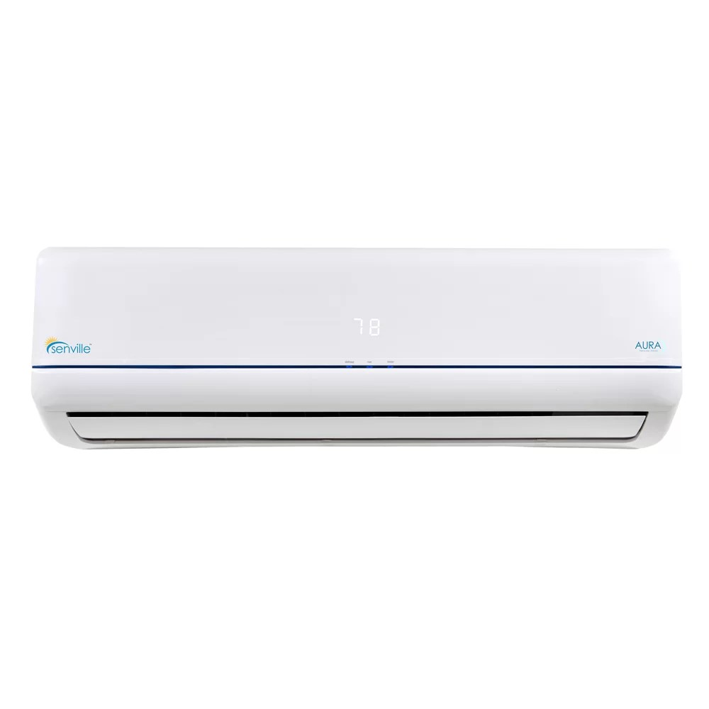 hight resolution of senville aura 36 000 btu energy star ductless mini split air conditioner with remote wayfair
